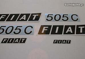 Autocolantes Fiat 420 450 505 605 640 stickers