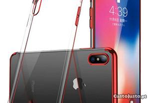 Capa Silicone Lmobile Galaxy A50S - Vermelho