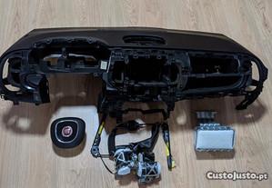 Kit Airbags Fiat 500L Tablier Original Completo