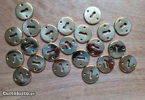 Espelhos de chave latão polido Tupai