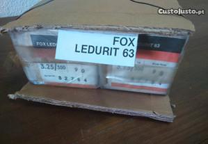 180 Eléctrodos 3,25mm 35cm Fox Ledurit 63 Novos