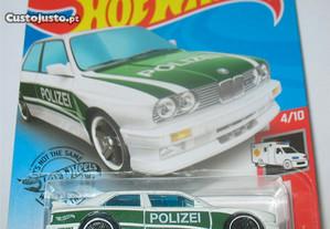92 BMW M3 (E30) Polizei (Hot Wheels - 2020)