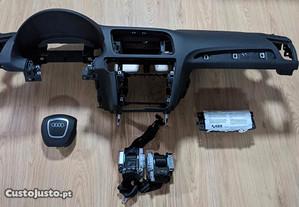 Conjunto Kit Airbags Audi Q5 Tablier Original