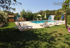 Moradia 110 m2 em bonita quinta rural com piscina.