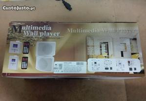 Conjunto Amplificador MP3 com 2 Colunas - Novo