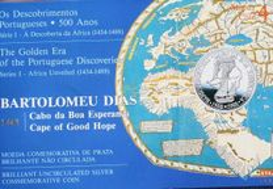 100$00 Bartolomeu Dias, BNC de 1987