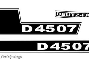 Kit autocolantes Deutz D4507