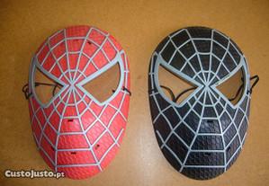 Máscaras Homem-aranha e Venom