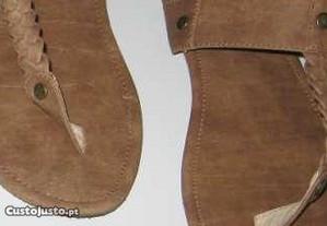 Sandálias de Senhora como Novas