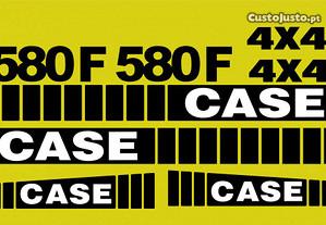 Autocolantes Case 580F 4x4