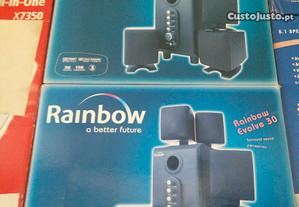 Colunas 5.1 Rainbow Evolve 30 NOVAS