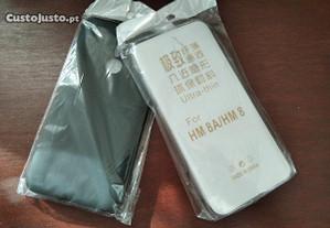 2 capas silicone para Xiaomi Redmi 8 / 8A NOVO