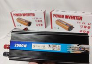 [NOVO] Inversor / Conversor 2000W [12V para 220V]