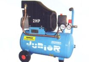 JUNIOR 24RM - Compressor 2 HP = 192Lt/min 8 bar R
