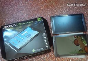 2 tablets Archos T101 para peças ou reparo 10.1