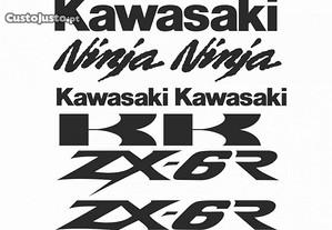 Autocolantes Kawasaki Ninja ZX-6R/ZX-9R/ZX-10/12R