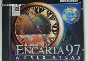 CD Rom Atlas Mundial da Microsoft
