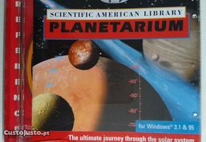 CD Rom Scientific American Library Planetarium