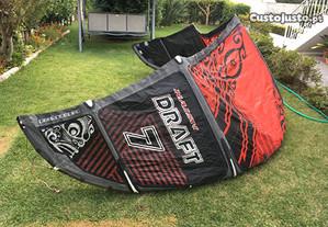 Kite Naish Draft 2014/15 size 7 - High Performance