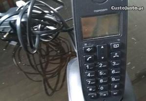 Telefone Sem Fios TOPCOM Como novo