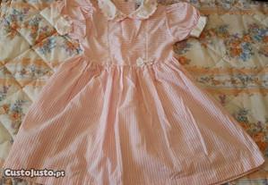 vestido menina 4 anos cerimonia azul rosa laranja