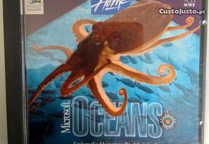 CD Rom Enciclopédia Microsoft OCEANS