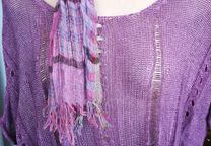Camisola lilás muito original