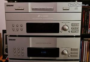 Conjunto aparelhagem Sony EX660