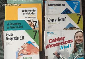 Cadernos de atividades 7.ano