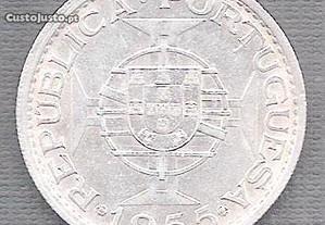 Moeda Moçambique - 20$00 Escudos 1955 Soberba