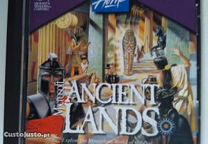 CD Rom - Microsoft Ancient Lands Viagem a terras