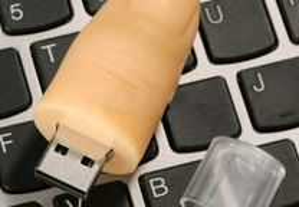 Pen Drive Usb Creative Dedo