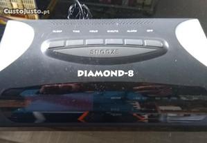 Rádio Despertador Diamond