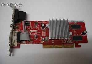Placa Grafica ATI Radeon 9250 agp 128mb usada