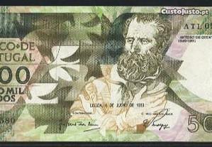 Espadim - Nota de 5.000$00 de 1989 - Nova