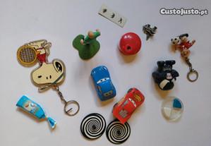 Vários brinquedos - Figuras, Brindes, Porta-chaves