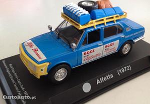 Miniatura 1:43 Alfa Romeo Alfetta Raid 1973