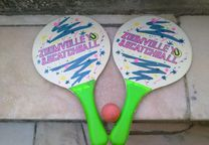 raquetas de praia