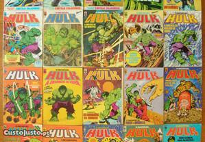 O Incrível Hulk - Coleção quase completa (Abril)