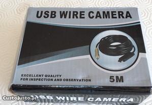 Camera de inspeção com cabo de 5 ligaçao USB