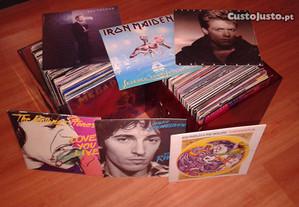 Discos de vinil diversos (LP, Maxi-single, Single)