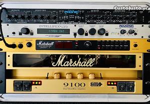Amp Marshall 9100 + pre amp JMP-1