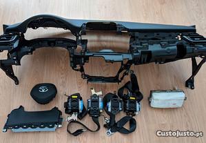 Conjunto Kit Airbags Toyota C-HR Tablier Original