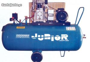JUNIOR 200 RT -Compressor 3 HP = 350Lt/min 10bar R