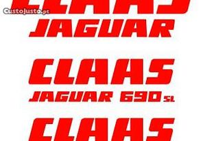 Kit autocolantes Claas Jaguar 690 SL