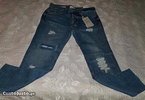 calças de ganga tamanho 36 - bershka / bsk (NOVAS)