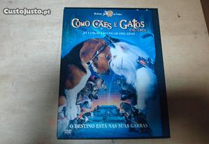Dvd original como caes e gatos ediçao snapper