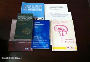 Livros de neurologia - vários títulos