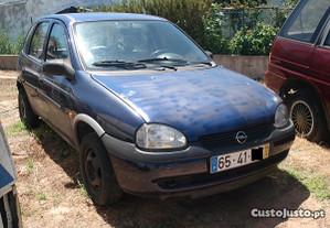 Opel corsa gasolina 5 portas peças