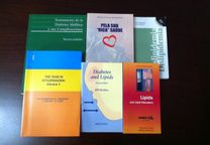 Livros diabetes e dislipidémia - vários títulos